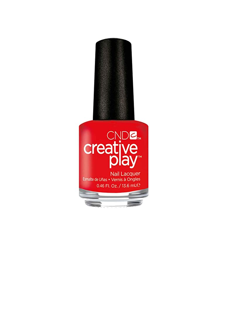 精巧な因子中絶CND Creative Play Lacquer - Mango About Town - 0.46oz / 13.6ml