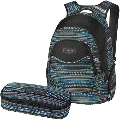 DAKINE 2er SET Laptop Rucksack Schulrucksack 25l PROM + SCHOOL CASE Mäppchen Cortez
