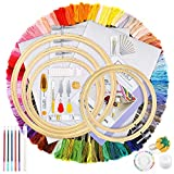 Caydo Hand Embroidery Kit with 100...