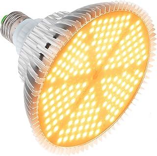 Växtlampa Grow Light 120 W LED tillväxtlampa E27, fullspektrum, 180 lysdioder, växtlampa för trädgård, växthus, inomhusväx...