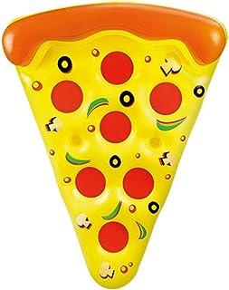 Otto Simon - Flotador Gigante con Forma de porción de Pizza para la Piscina, de 1,8 Metros de Largo
