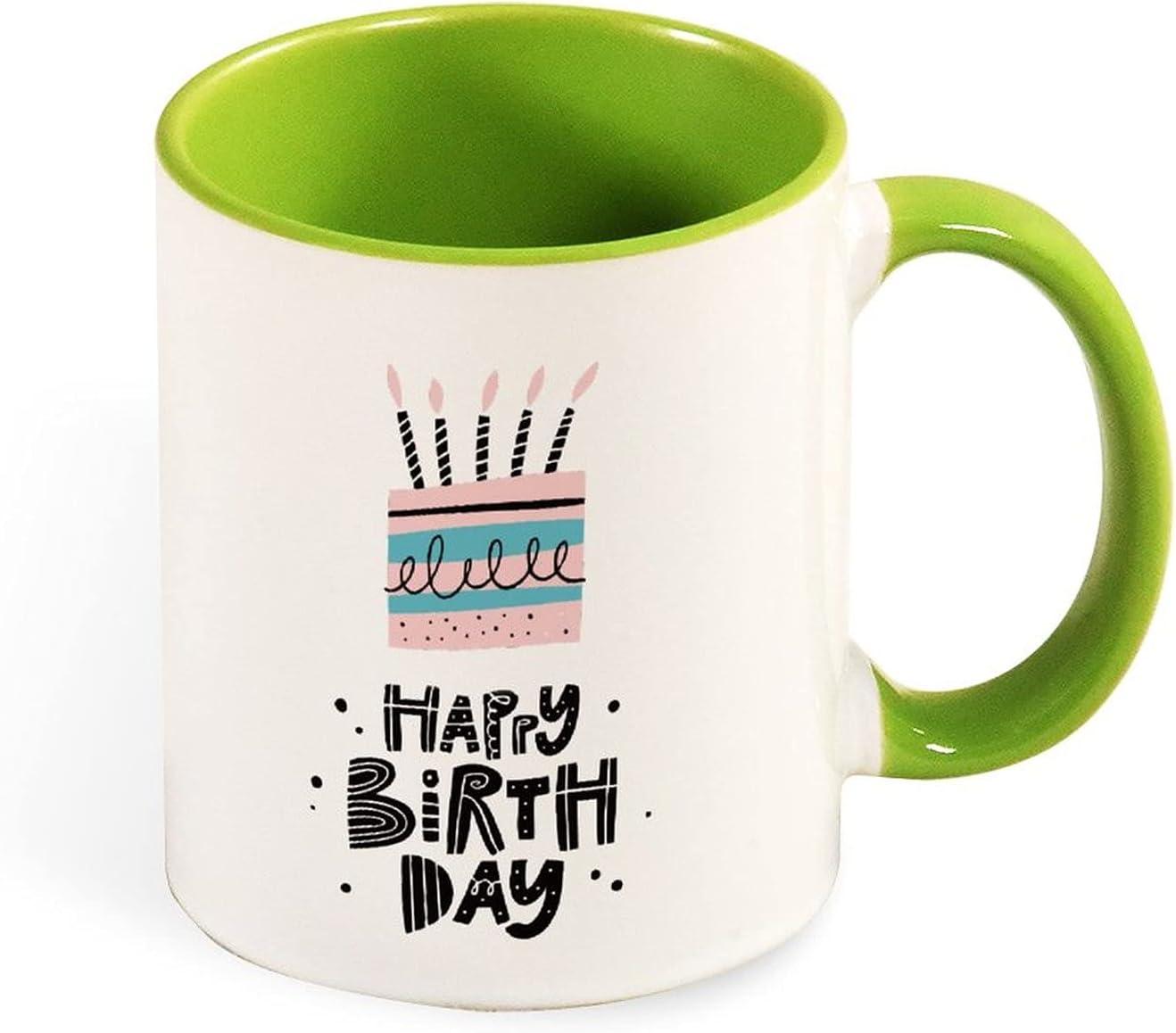 Ceramic coffee cup for cappuccino Max 80% OFF latte Happy tea Birth or Superior hot