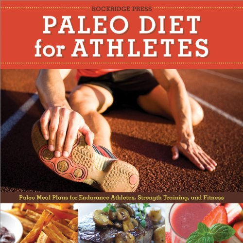 Paleo Diet for Athletes Guide audiobook cover art