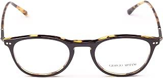 Luxury Fashion | Giorgio Armani Mens AR71255622 Brown Glasses |