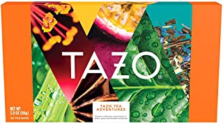 Tazo Variety Box For Bold, Refreshing or Spicy Teas Assorted Flavors Perfect for Gifting 3 oz 40 Tea Bags