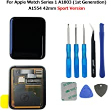 swark LCD Pantalla para Apple Watch Series 1a1803and (1st Generation) a1554Screen 42mm LCD Screen and digitalizador Assembly + Tools