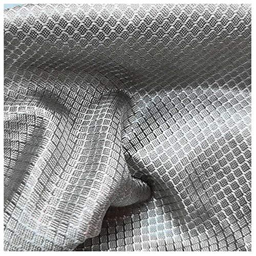 PHBSF Faraday Fabric Silberfasergewebe Diamond Grid Anti-Strahlungs-leitfähiges Tuch Hochelektromagnetisches Abschirmgewebe(Size:1.5x3m)