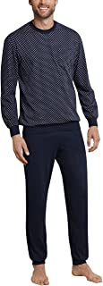 Schiesser Men's Pajamas long with cuffs