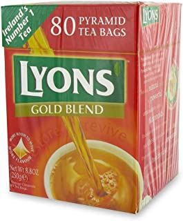 Lyons Gold Blend 80 bags (Pack of 2)