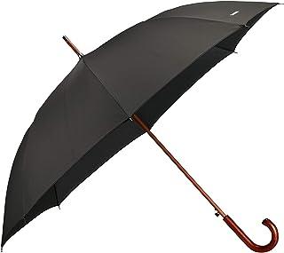 SAMSONITE Wood Classic S - Man Auto Open Stick Umbrella, 98 cm, Black (Black)