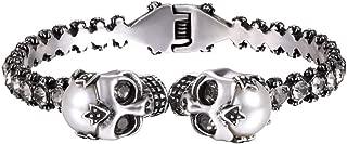 Best pearl skull bracelet Reviews