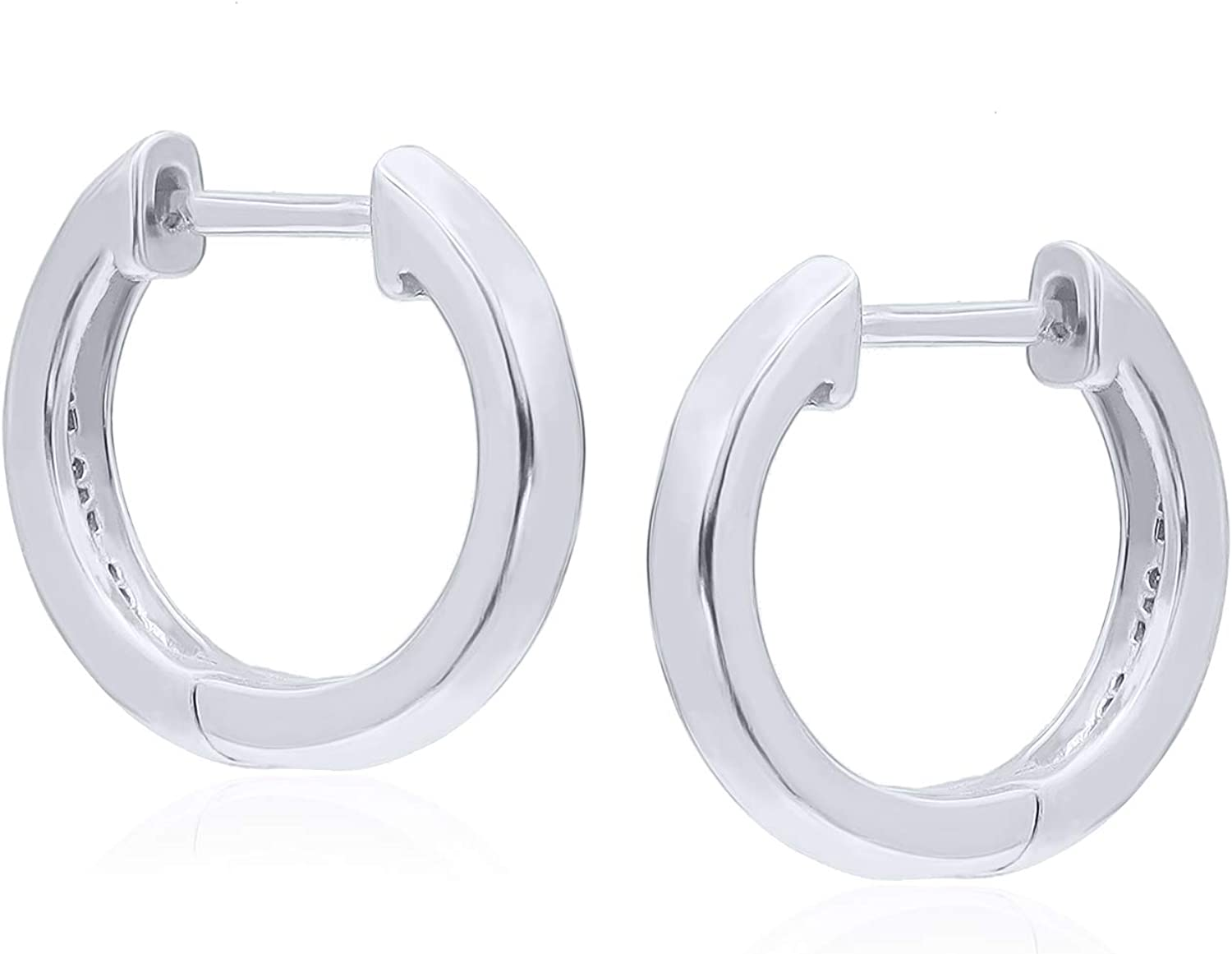 Indefinitely 925 Sterling Silver Tiny Small Hoop for Thick Women Earrings discount Men