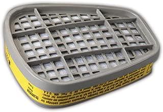 3M 50051131070474 Organic Vapor/Acid Gas Cartridge 6003 (Pack of 2)