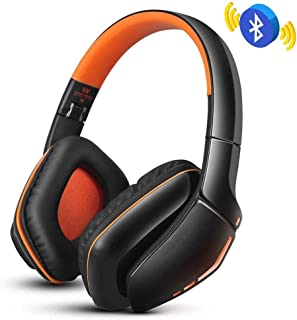 FSGHJJKN Wireless Noise Cancelling Headphones, Over Ear Headphones, Rechargeable (Color : Brown)