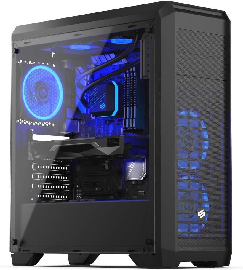 Sedatech PC Pro Gaming Intel i7-10700KF 8X 3.80Ghz, Geforce RTX 3070 8Gb, 64 GB RAM DDR4, 2Tb SSD NVMe M.2 PCIe, 3Tb HDD, USB 3.1, CardReader. Ordenador de sobremesa, Win 10