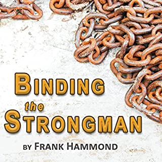 Binding the Strongman audiobook cover art