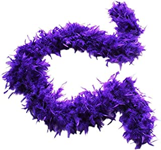Lovor Feather Boas 45g Lightweight Unisex Party Performance Cosplay Shawl