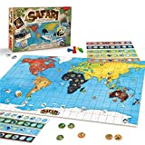 JUEGACONMIGO Safari, el Juego de los Animales. Juego de Mesa de Estrategia y Aprendizaje de Animales del Mundo.
