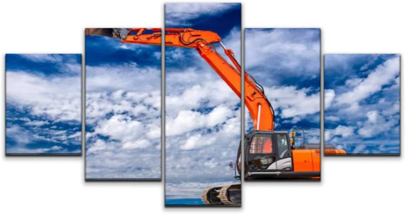 Large Canvas Print 5 Max 70% OFF Panels Art work Paintings Over item handling ☆ at Wall Excavator