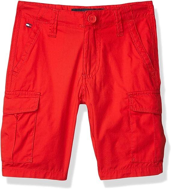 Tommy Hilfiger Boys Drawstring Cargo Pocket Short
