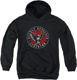 Mens Circle Logo Sweater Velvet Revolver
