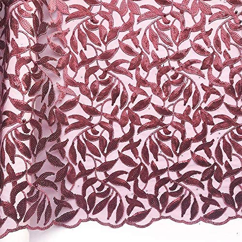 African velvet lace fabric _image1