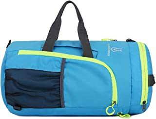 ZOYO Gym Bag Folding Nylon Bags Fitness Bag Water Resist Bag 25L Cycling Backpack Easy Fold Bag Folding Backpack Sports Bag Handhold Bag Travel Backpack Foldable Multi Functional Bag Hiking Camping Bike Riding Racing Backpack