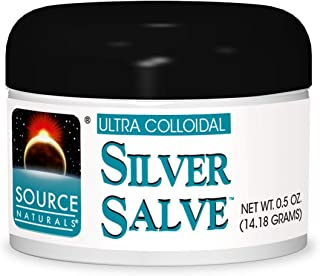 Source Naturals Ultra Colloidal, Silver Salve - In Topical Form - 1 tbs