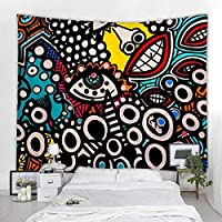 Tapestry Beauty beast Wolf Girl tapestry oil painting art print tapestry wall hanging beach towel polyester thin blanket yoga 150x130cm
