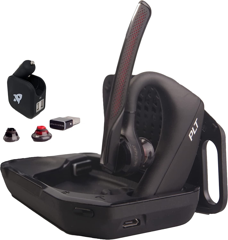 Plantronics Voyager 5200 UC Daily bargain sale Bluetooth Bundle - for Smart Headset Special sale item
