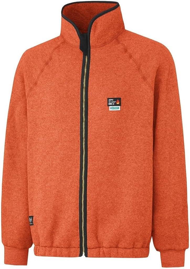 Helly-Hansen Workwear Mens Duluth Fire Resistant Thermal Jacket Orange
