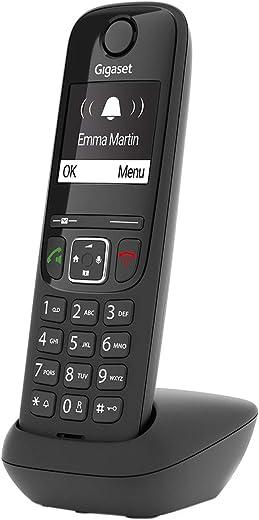 Gigaset AS690 – Schnurloses Telefon – großes, kontrastreiches Display – brillante Audioqualität – einstellbare Klangprofile – Freisprechfunktion -…