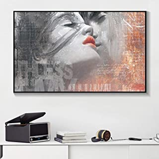 Canvas Painting Decorative Paintings Modern Poster and Prints Decorative Painting Lover Kiss Wall Art Canvas Painting for ...