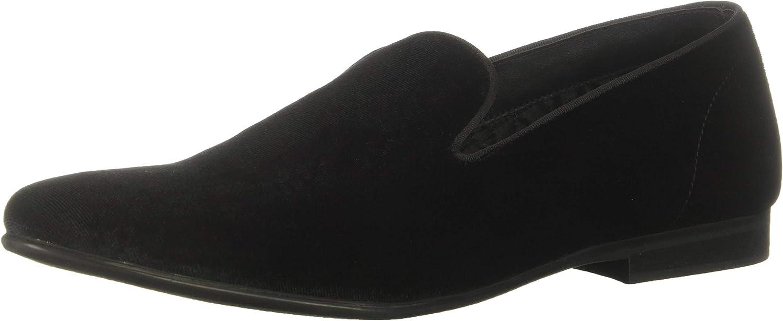 Steve Madden Hommes's Cents Slipper, noir velours, 11 M US