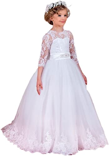 RMRobe - Robe - Boule - Manches 3 4 - Fille