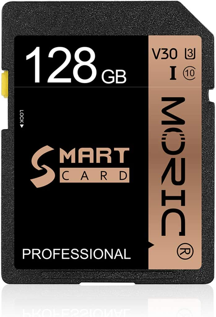 128GB SD Card High Speed Security Digital Memory Card Class 10 for Camera,Videographers&Vloggers and Other SD Card Compatible Devices(128GB) SD Card