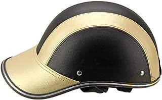 sibina Moped Helmet Half Helmet Baseball Cap Motorcycle Helmet Electric Car Summer Helmet Duckbill Cap