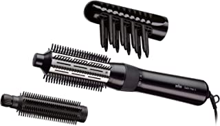 Braun Satin Hair Styler 3 AS 330 Airstyler With Brush And Comb Attachments