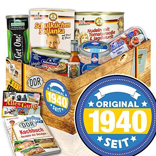 Original seit 1940 - Ostprodukte DDR - 80 Geburtstag Geschenkeset - DDR Geschenk