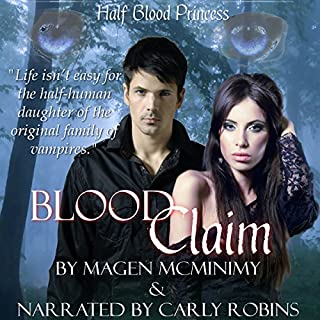 Blood Claim audiobook cover art