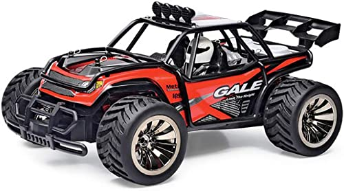 2,4 GHz Radio Fernbedienung Auto 2W 20Mph High Speed  acing Monster Truck mit 2 Ladeger Batterie Kinder
