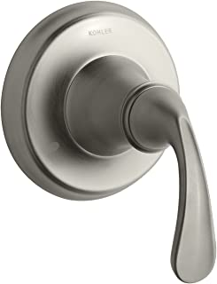 KOHLER K-T10290-4-BN Forte Transfer Valve Trim, Vibrant Brushed Nickel