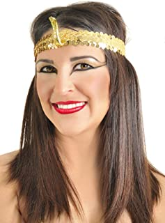 Arsimus Gold Egyptian Cleopatra Headband (Cobra)