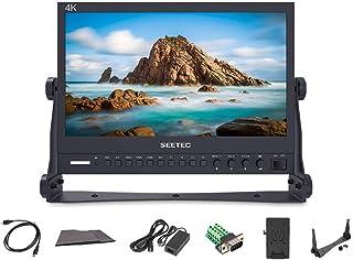 SEETEC P133-9HSD 13.3インチアルミデザイン4K IPSスクリーンフルHD 1920×1080プロブロードキャストモニター、3G-SDI HDMI AV YPbPrプロフェッショナルLCDモニター【日本語設定&販売後のサポート】