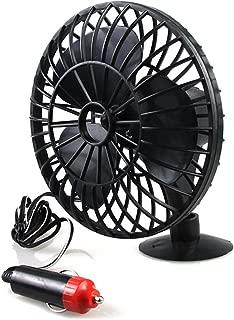 LIOOBO Mini Portable Fan Electric Fan Electric Radiator Slient Low Noise Vehicle Truck Suction Fan Cooling Air Supplier for Car