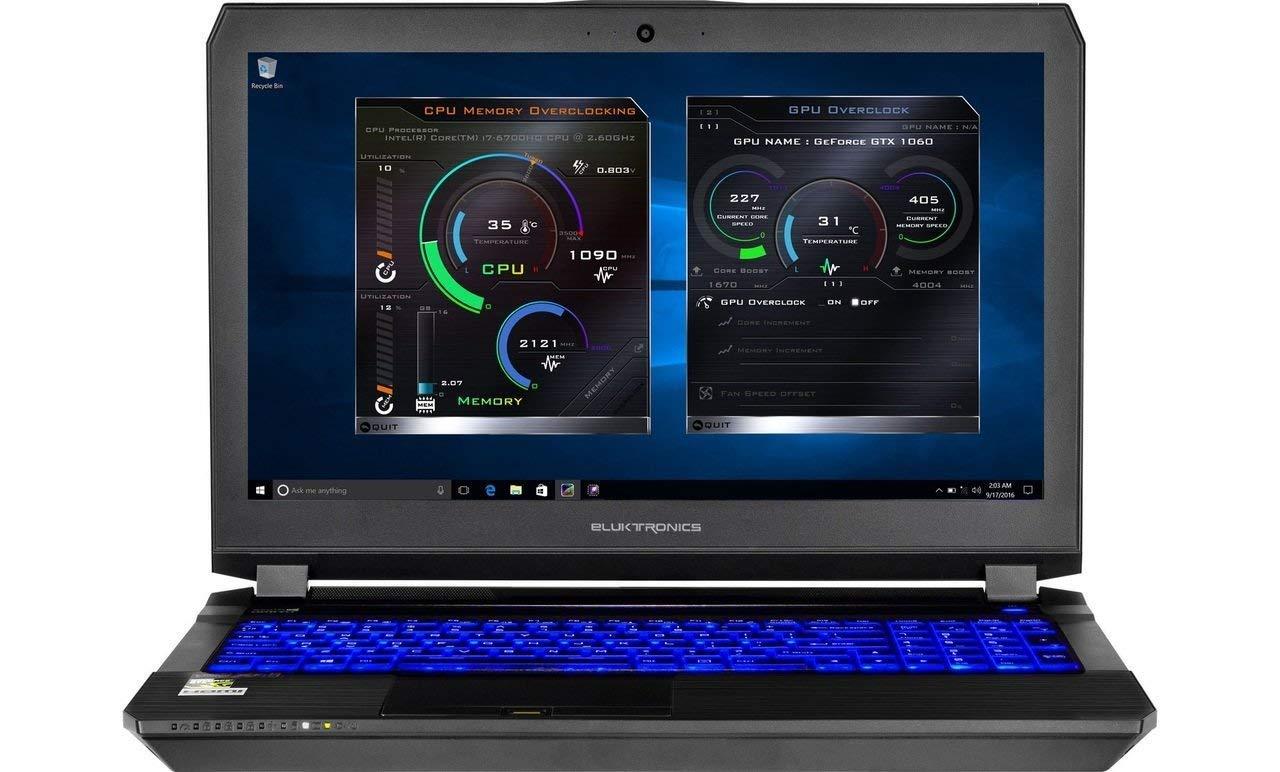 Eluktronics P650HP6 G Ready Gamers Laptop