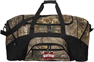 Broad Bay Large Realtree Camo Mississippi State Duffel Bag Or Camo MSU Mississippi State Gym Bag