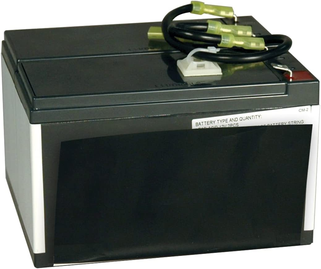 Tripp Lite RBC24-SLT Replacement Battery Cartridge for Select Tripp Lite & Other Major UPS Brand