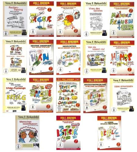 Birkenbihl - The Complete Edition - Das Beste von Vera F. Birkenbihl in einer Sammlung (19 Seminare) [19 DVDs]