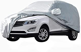 Car Cover SUV Cover Car Snow Cover Waterproof/Windproof/Dustproof/Scratch Resistant Outdoor UV Protection Full Car Covers For SUV Car XL (191''-201'')